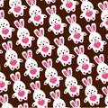"Chocolate Transfer Sheets (5 Sheets per Packet), ""Funny Bunny"""